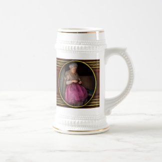 Sewing - Ribbon - Granny's hobby Beer Stein