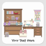 Sewing Room 2 (customisable) Stickers