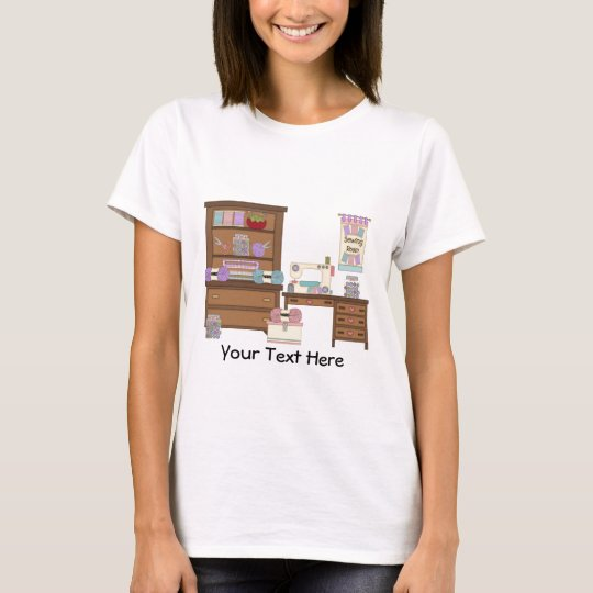 Sewing Room 2 (personalised) T-Shirt