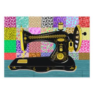 Sewing Seamstress Fashion - SRF Business Card Templates