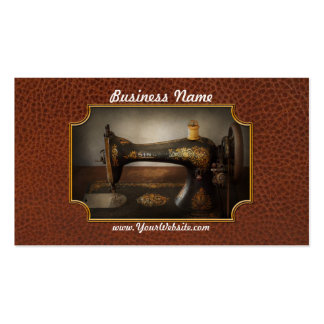 Sewing - Sing a song Business Card Template