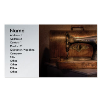 Sewing - Singer Pack Of Standard Business Cards