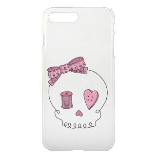 Sewing Skull (Hair Bow) iPhone 7 Plus Case