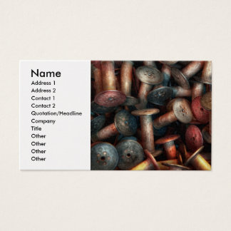 Sewing - Spools Business Card