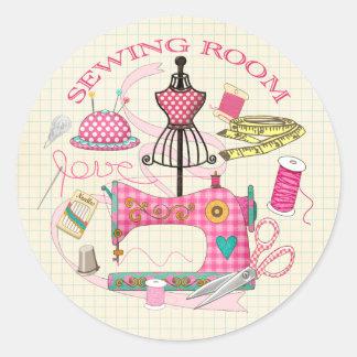 Sewing Sticker