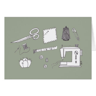 Sewing Stuff Card