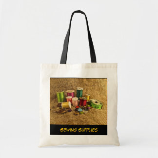 Sewing Supplies Tote Bag