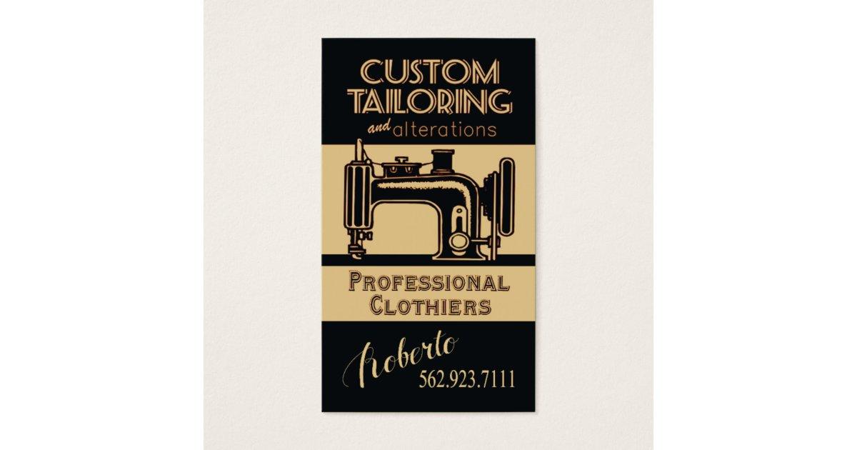 Sewing: Tailor, Dressmaker, Designer, Seamstress Business Card ...