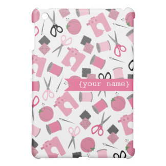 Sewing Theme Personalized  Cover For The iPad Mini