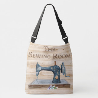 Sewing themed bag