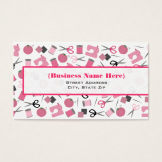 Sewing Themed Business Card