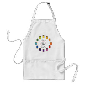 Sewing Thimble, Needle, Threads Do It Yourself Standard Apron