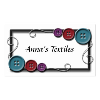 Sewing Thread Business Cards