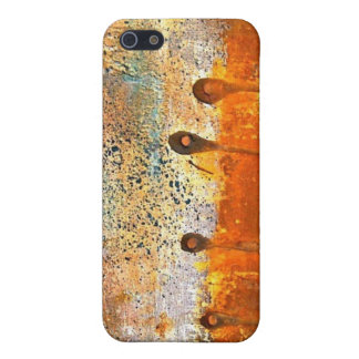 """""""Sewn"""" Abstract Rust Painting iPhone 5/5S Case"""