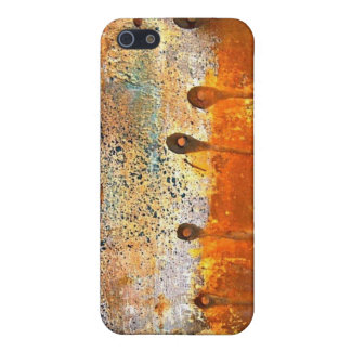 """""""Sewn"""" Abstract Rust Painting Cover For iPhone 5"""