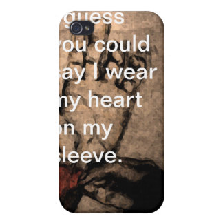 sewn cover for iPhone 4