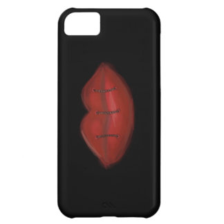 Sewn Lips iPhone 5C Cases
