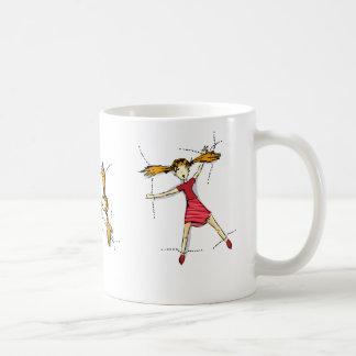 Sewn On Basic White Mug