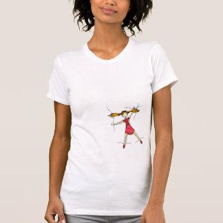 Sewn on t-shirt