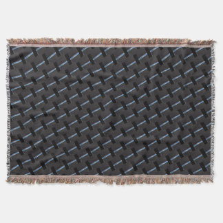 sewn pattern throw blanket