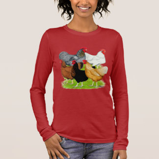 Sex-linked Chickens Quintet Long Sleeve T-Shirt