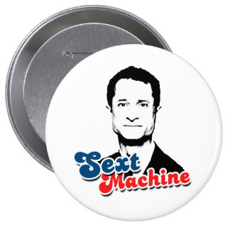 SEXT MACHINE 10 CM ROUND BADGE