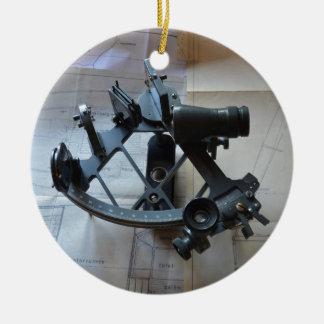 Sextant For Celestial Navigation Christmas Ornament