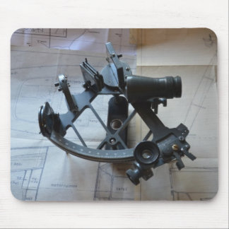 Sextant For Celestial Navigation Mouse Mat