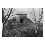 Sexton Burrow Lookout Tower. England Greeting Card