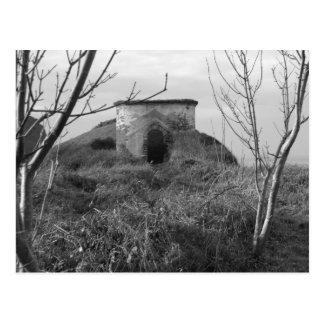 Sexton Burrow Lookout Tower. England Postcard