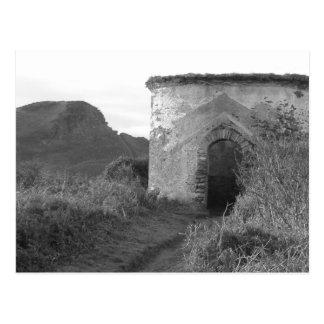 Sexton Burrow Lookout Tower England Postcard