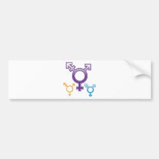 Sexuality Symbol Bumper Sticker