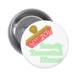 Sexually Transmitted Diseases 6 Cm Round Badge