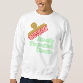 Sexually Transmitted Diseases Pullover Sweatshirts