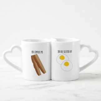 Sexy Bacon and Eggs Nesting Mugs
