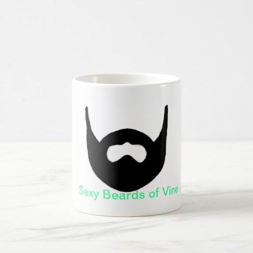 Sexy Beards of Vine Mugs