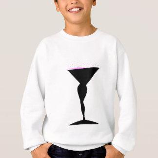 Sexy Champagne Glass Sweatshirt