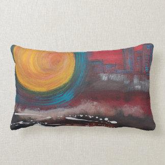 Sexy City Throw Pillow Original Artwork