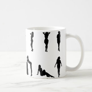 Sexy Girl  Silhouette Coffee Mug