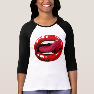 Sexy Lips T-Shirt For Woman