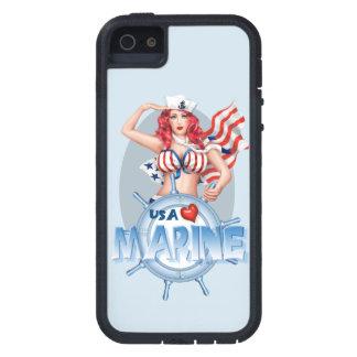 SEXY MARINE  CARTOON iPhone SE + iPhone 5/5S TX iPhone 5 Covers