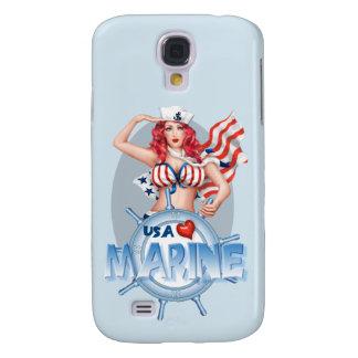 SEXY MARINE  CARTOON  Samsung Galaxy S4    BT Galaxy S4 Case