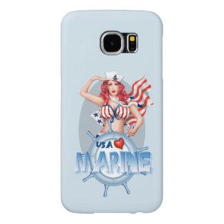 SEXY MARINE  CARTOON  Samsung Galaxy S6    BT Samsung Galaxy S6 Cases