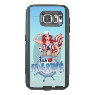 SEXY MARINE USA Samsung Galaxy S6  CS
