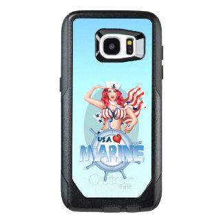 SEXY MARINE USA Samsung Galaxy S7 Edge   CS