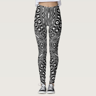 Sexy Money Mandala Yoga Leggings