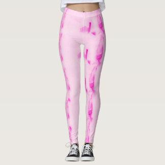 Sexy pink leggings