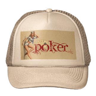 Sexy poker woman cap