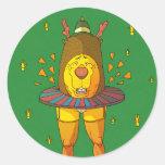 Sexy Ridolph Round Sticker
