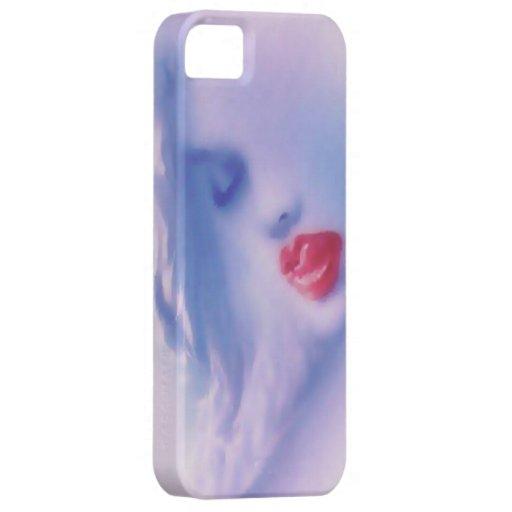Sexy Seductive Girl Licks Lips iPhone 5/5s Case